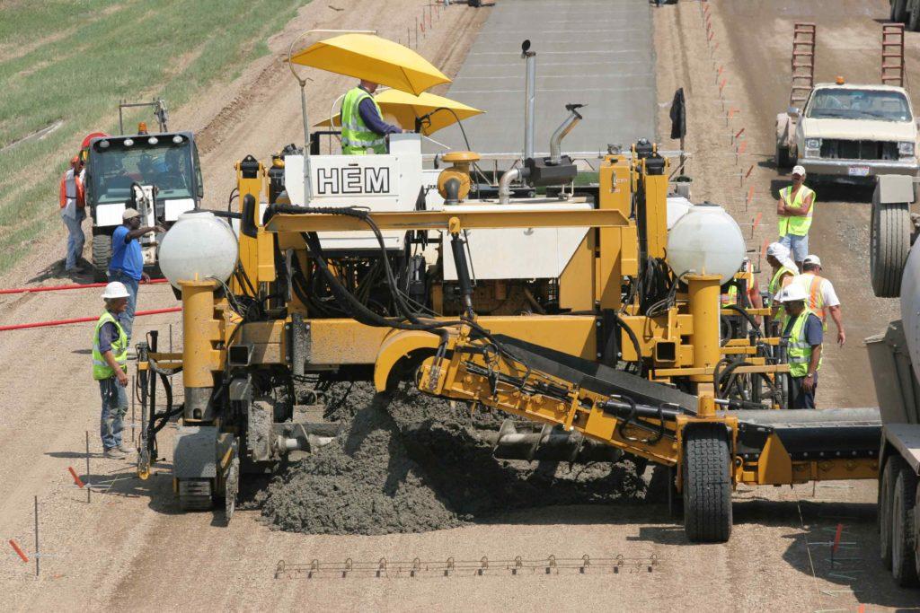 PS 12-28   Placers & Spreaders   Concrete Paving   HEM